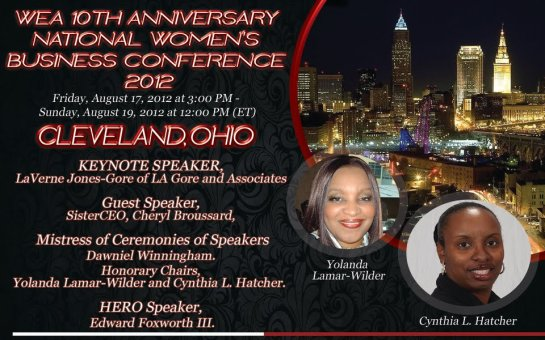 WEA 10TH ANNIVERSARY NATIONAL WOMEN'S BUSINESS CONFERENCE