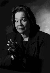 Coretta Scott King, Civil Rights Activist and wife of Dr. Martin Luther King Jr.