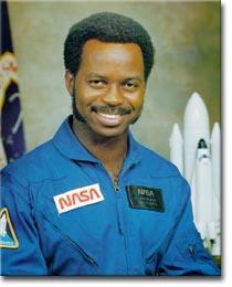 Dr. RONALD E. MCNAIR, NASA ASTRONAUT