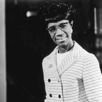 Shirley Chisholm, First Black Congresswoman