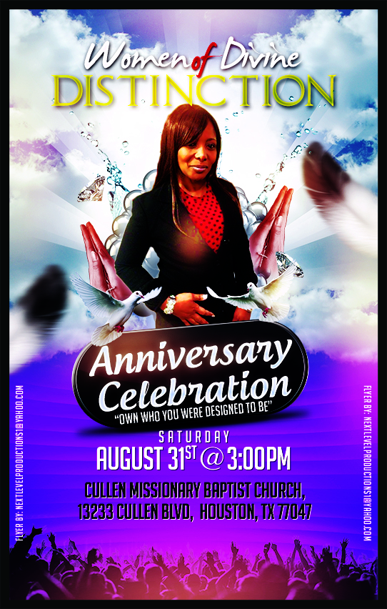 Women of Divine Distinction Anniversary Celebration