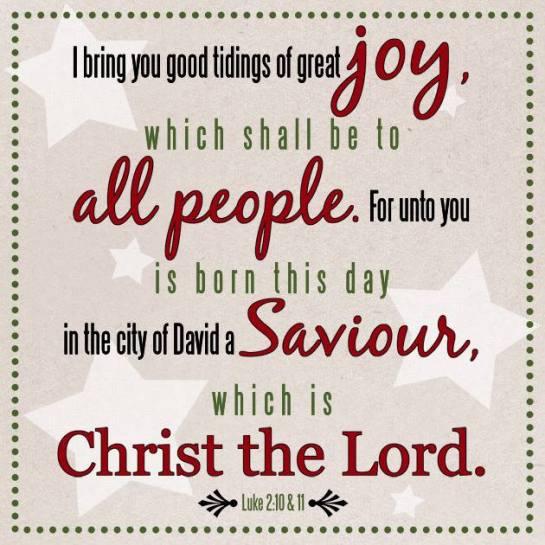 Luke 2:10-11