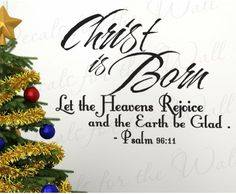 REJOICE AS IT IS THE BIRTH OF CHRIST