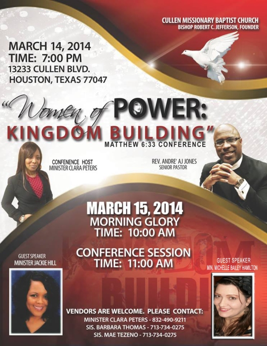 Women of Power: Kingdom Building Conference