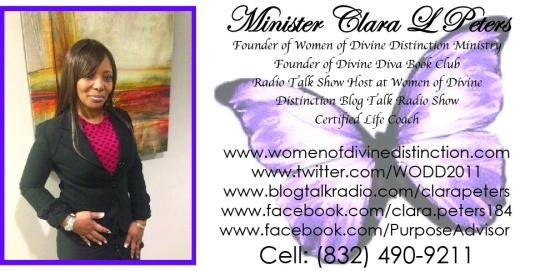 Minister Clara L Peters